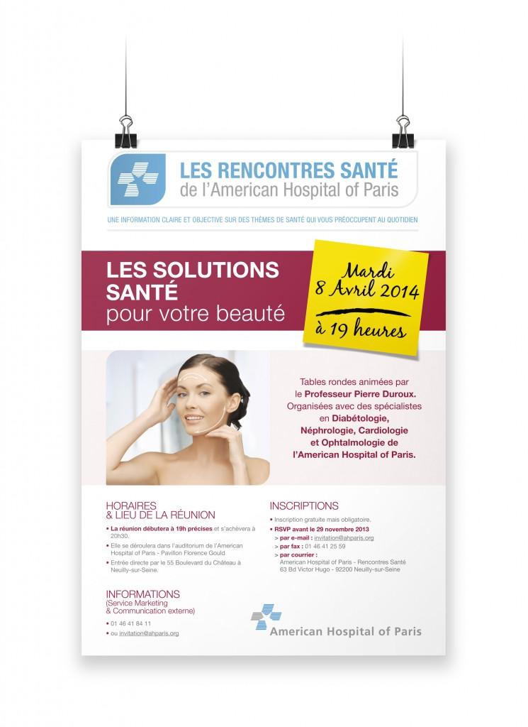 Affiche Rencontres Santé 2014