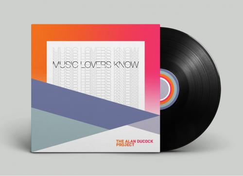Record sleeve design 4